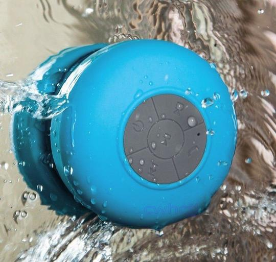 Other Hot Pink Waterproof Wireless Bluetooth Handsfree Mic Speaker Shower Car Mini IPhone Samsung Cell Phone