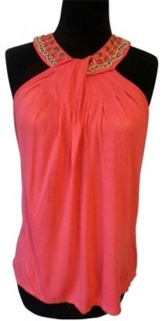 Preload https://img-static.tradesy.com/item/30270/cable-and-gauge-coral-cut-away-shoulders-beaded-neckline-tank-topcami-size-8-m-0-0-650-650.jpg