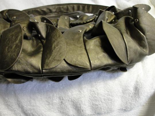 Steve Madden Large Ruffles Studded Shoulder Bag