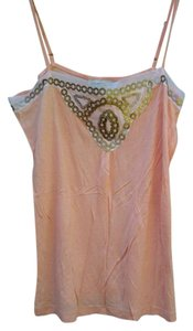 Banana Republic Embellished Top peach