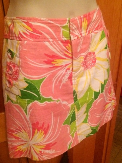 Lilly Pulitzer Skirt Pink and multi-color