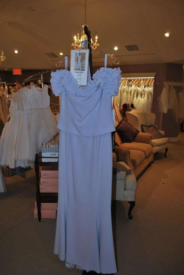 Daymor Couture Lavendar Acetate 2003 Formal Bridesmaid/Mob Dress Size 6 (S)