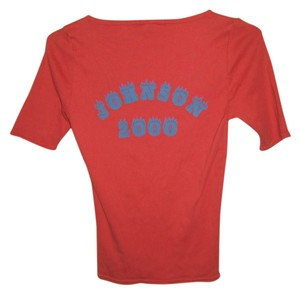 Betsey Johnson T Shirt Red/Orange