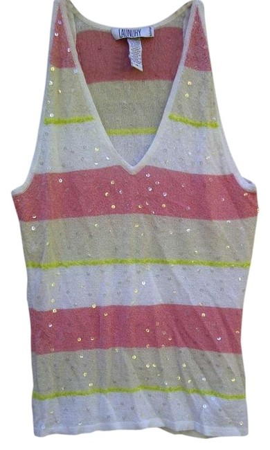 Preload https://img-static.tradesy.com/item/302770/laundry-by-shelli-segal-multicolor-tank-topcami-size-8-m-0-0-650-650.jpg