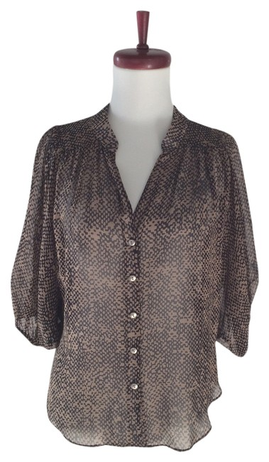 Preload https://item1.tradesy.com/images/black-taupe-silk-boho-blouse-size-4-s-3027790-0-0.jpg?width=400&height=650