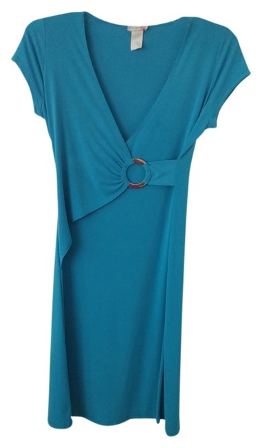 Preload https://item3.tradesy.com/images/body-central-blue-knee-length-night-out-dress-size-12-l-3028192-0-0.jpg?width=400&height=650