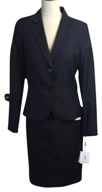 Item - Gray Pin Strip Business Skirt Suit Size 10 (M)