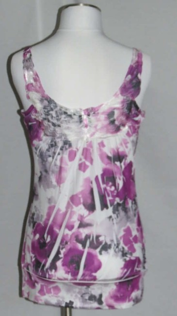 Simply Irresistible Top White/Purple