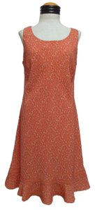DBY Ltd. short dress Orange Floral Print on Tradesy