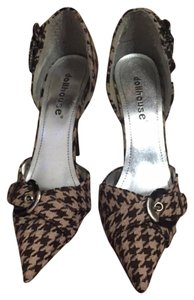 Dollhouse Herringbone Pumps