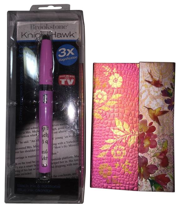 Item - Knighthawk Lighted Magnifier Pen and Punch Studios Purse Diary [ Roxanne Anjou Closet ]