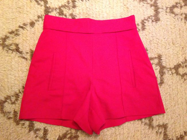 Zara Dress Shorts Red