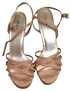 M.P.S. Shoes Nude Sandals