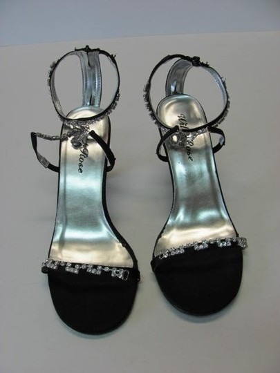 WILL ROSE Great Condition Size 8m With Rhinestones BLACK Formal