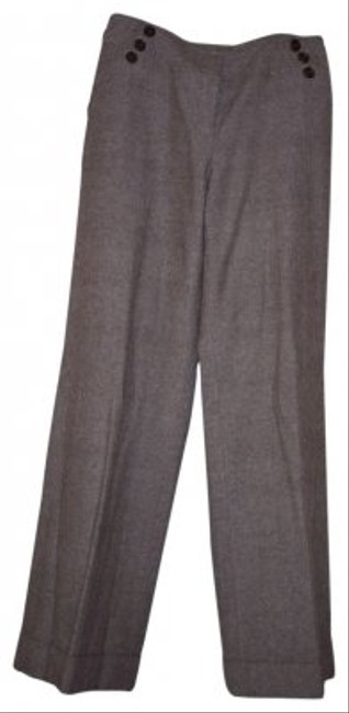Ann Taylor Flare Pants Brown