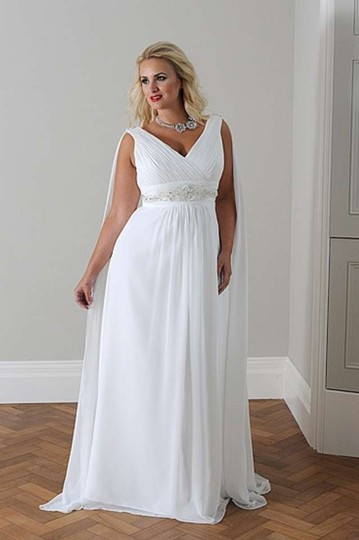 Callista Ivory 4097 Wedding Dress Size 20 (Plus 1x)