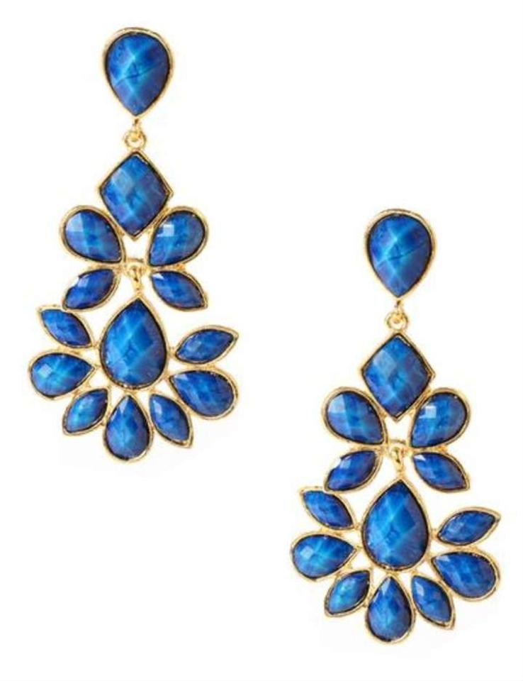 Amrita Singh Lapis Blue Earrings Amrita Singh Jewelry