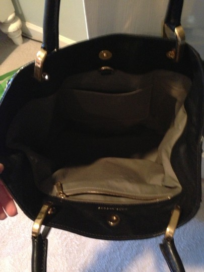 Marc Jacobs Paradise Leather Studs Tote in Black