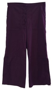 Be Present Capri/Cropped Pants Plum