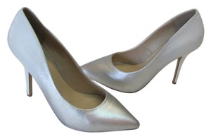 Call It Spring Size 8m WHITE, SILVER Pumps