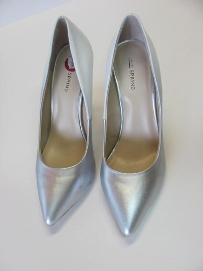 Call It Spring Whe/ 8m WHITE, SILVER Pumps