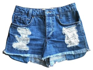 Rachel Roy Shorts Medium Wash Blue