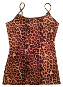 Express Top Cheetah Print