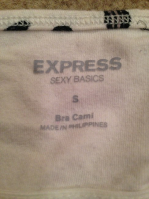 Express Top Black & White