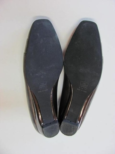 Ros Hommerson Leather Size 8aaaa Good Condition light bronze Wedges