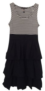 BCBGMAXAZRIA short dress Black, White on Tradesy