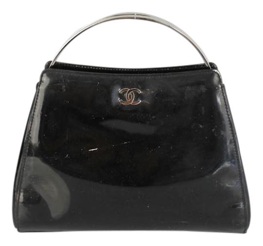Preload https://item4.tradesy.com/images/chanel-evening-black-patent-leather-satchel-3033028-0-2.jpg?width=440&height=440