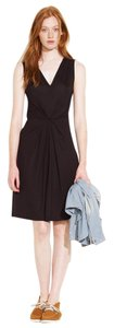 Madewell short dress Black Pleat Summer on Tradesy