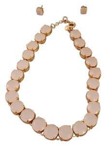 J.Crew J. Crew Translucent stone necklace and earrings