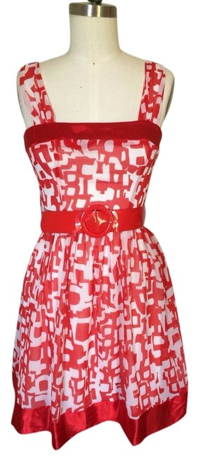 Preload https://item1.tradesy.com/images/tempted-hearts-dress-red-and-white-3033925-0-0.jpg?width=400&height=650
