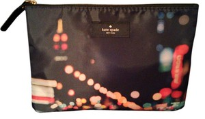 Kate Spade Kate Spade City Of Lights Cosmetic Bag New Without Tags.