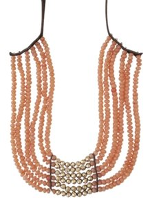 Lucky Brand 60% OFF! BRAND NEW Lucky Brand Gold-Tone Carnelian Collar Necklace