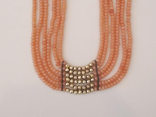 Lucky Brand 65% OFF! BRAND NEW Lucky Brand Gold-Tone Carnelian Collar Necklace