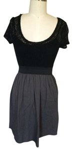 Vanity short dress Black Lace on Tradesy