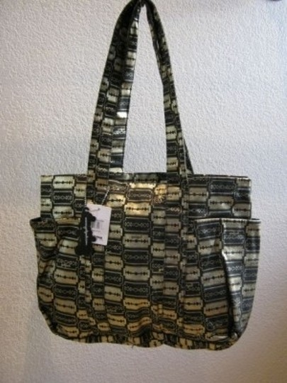 Yak Pak Tote in Black and Gold