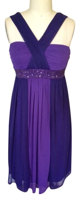 Preload https://item5.tradesy.com/images/intrigue-purple-short-casual-dress-size-8-m-3034519-0-0.jpg?width=400&height=650