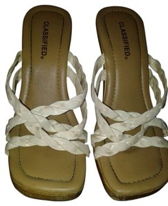 Classified cream Wedges