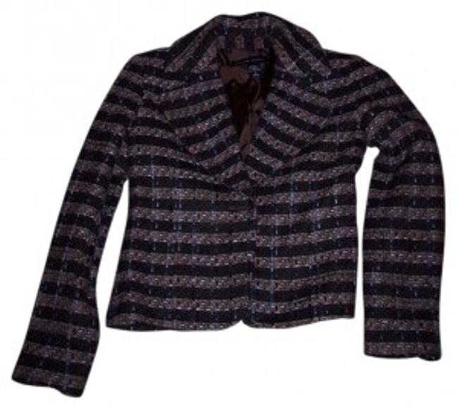 Preload https://item3.tradesy.com/images/new-york-and-company-brown-multi-ny-co-blazer-size-2-xs-30347-0-0.jpg?width=400&height=650