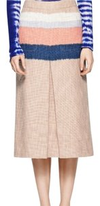 Tory Burch Skirt Nude Navy Peach