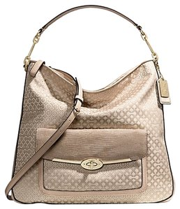 Coach Handbags Art Light Gold Hobo Bag