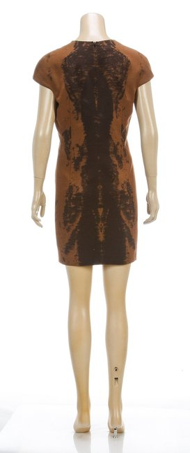 Akris short dress Brown on Tradesy