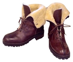 Coach Dark Brown Boots