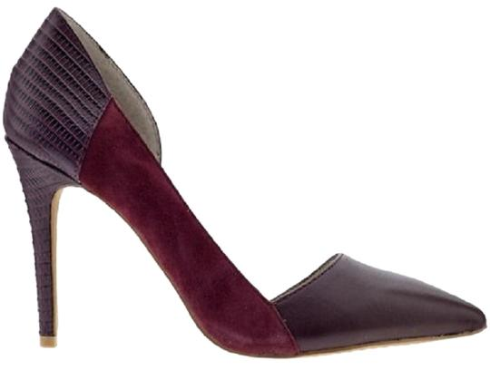 Steven by Steve Madden Red Wine Women Classic Pointed Toe purple Pumps