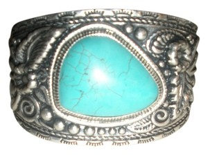 Silver & Turquoise Cuff
