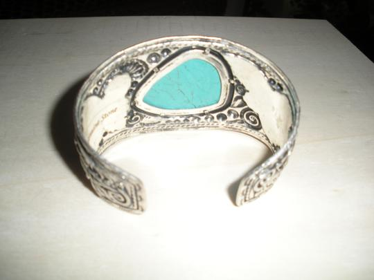 Other Silver & Turquoise Cuff