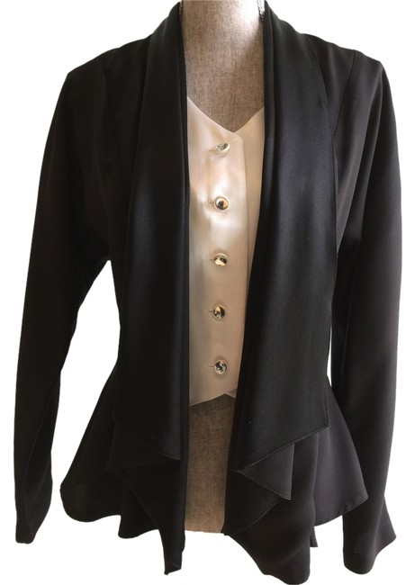 Other Tops Dressy Tops Tops Jacket Tops Size Small Tops Top Black/Ivory